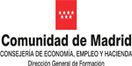 Logo partner Comunidad de Madrid, External link will open in a new tab